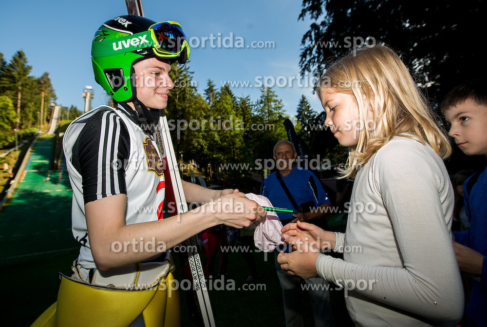 Spela Rogelj during Ski jumping Summer cup - 45. Revija skokov Mostec on June 4, 2016 in Mostec hill, Ljubljana, Slovenia.Photo by Vid Ponikvar / Sportida
