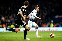 Christian Eriksen of Tottenham Hotspur - Mandatory by-line: Robbie Stephenson/JMP - 30/04/2019 - FOOTBALL - Tottenham Hotspur Stadium - London, England - Tottenham Hotspur v Ajax - UEFA Champions League Semi-Final 1st Leg