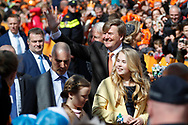 27-04-2017 KONINGSDAG 2017 TILBURG<br /> Tilburg viert Koningsdag 2017 met Willem-Alexander en Prinses Amalia<br /> <br /> Foto: Geert van Erven