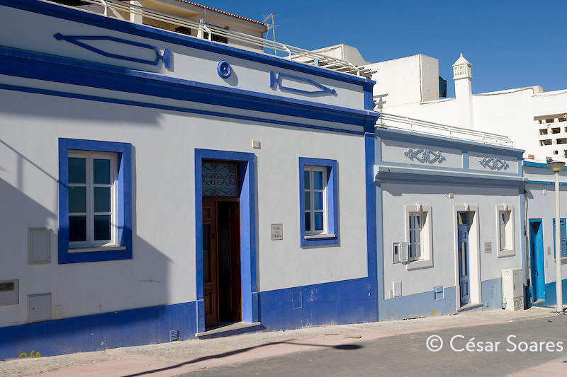 Typical house of Algarve, Portugal