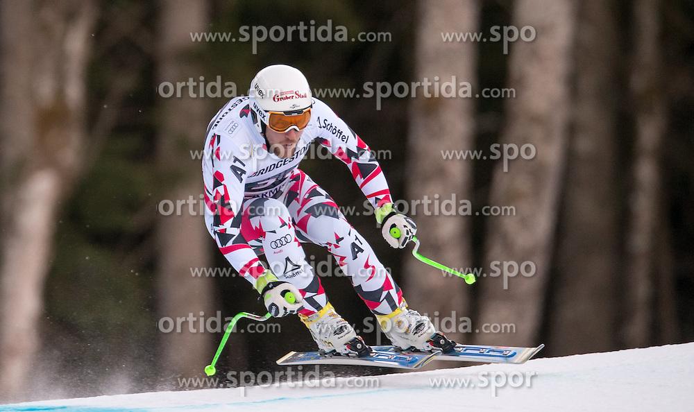 30.01.2016, Kandahar, Garmisch Partenkirchen, GER, FIS Weltcup Ski Alpin, Abfahrt, Herren, im Bild Johannes Kroell (AUT) // Johannes Kroell of Austria competes in his run for the men's Downhill of Garmisch FIS Ski Alpine World Cup at the Kandahar course in Garmisch Partenkirchen, Germany on 2016/01/30. EXPA Pictures © 2016, PhotoCredit: EXPA/ Johann Groder
