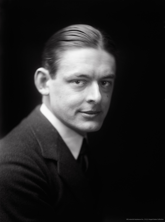 T.S. Eliot, English Author, Poet, Critic and Nobel Laureate, 1919