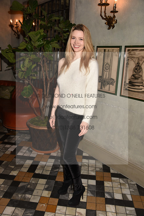 Tallulah Riley at The Ivy Chelsea Garden's Annual Summer Garden Party, The Ivy Chelsea Garden, 197 King's Road, London England. 9 May 2017.<br /> Photo by Dominic O'Neill/SilverHub 0203 174 1069 sales@silverhubmedia.com