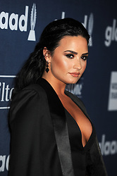 Demi Lovato, 27th Annual GLAAD Media Awards, at The Beverly Hilton Hotel, April 2, 2016 - Beverly Hills, California. EXPA Pictures © 2016, PhotoCredit: EXPA/ Photoshot/ Celebrity Photo<br /> <br /> *****ATTENTION - for AUT, SLO, CRO, SRB, BIH, MAZ, SUI only*****