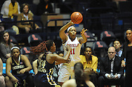 "Ole Miss vs. Georgia Tech in the WNIT at the C.M. ""Tad"" Smith Coliseum in Oxford, Miss. on Sunday, March 22, 2015. Ole Miss won 63-48.(AP Photo/Oxford Eagle, Bruce Newman)"