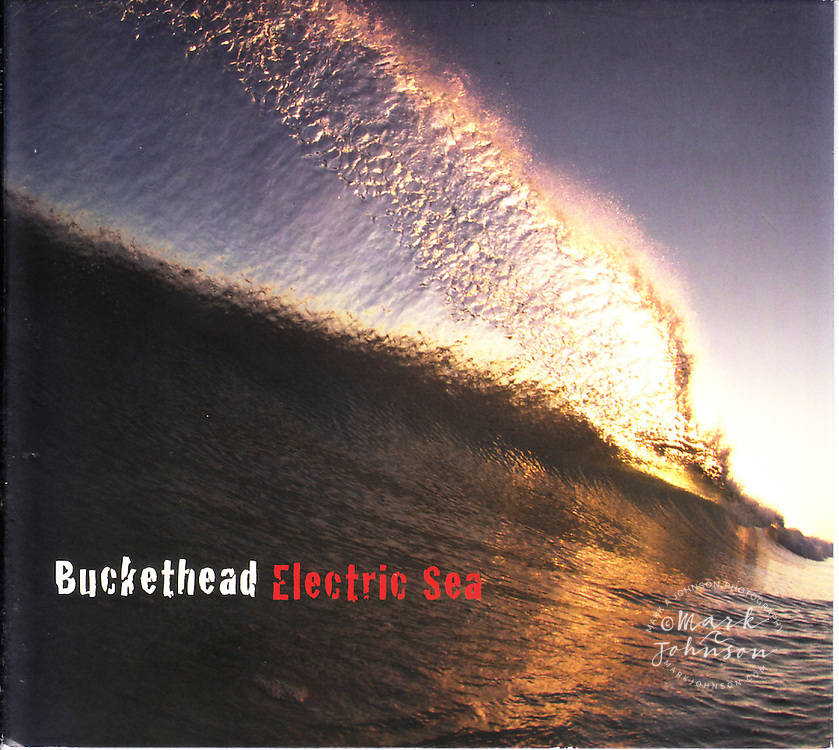 One of my Baja wave photographs on the new Buckethead music CD