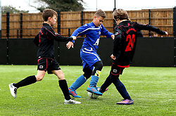 Match action from the BCCT EFL Kids Cup - Mandatory by-line: Robbie Stephenson/JMP - 23/11/2016 - FOOTBALL - South Bristol Sports Centre - Bristol, England - BCCT EFL Kids Cup