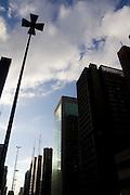 Sao Paulo_SP,Brasil...Edificios na Avenida Paulista em Sao Paulo...The building in Avenida Paulista in Sao Paulo...Foto: MARCUS DESIMONI / NITRO