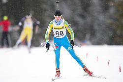 11.12.2010, Biathlonzentrum, Obertilliach, AUT, Biathlon Austriacup, Sprint Lady, im Bild Tatjna Trachuk (UKR, #68). EXPA Pictures © 2010, PhotoCredit: EXPA/ J. Groder