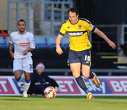 Oxford United's Danny Hylton - Photo mandatory by-line: Paul Knight/JMP - Mobile: 07966 386802 - 06/12/2014 - SPORT - Football - Oxford - Kassam Stadium - Oxford United v Tranmere Rovers - FA Cup Second Round