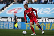 Nottingham Forest defender Joe Worrall (4) during the EFL Sky Bet Championship match between Wigan Athletic and Nottingham Forest at the DW Stadium, Wigan, England on 20 October 2019.