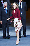 100616 Queen Letizia Of Spain Visits 'Friends Of Prado Museum Foundation'