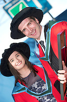 27/02/2014 XX job Peter O Conghnaile, Carraroe and Sinead Burke, Oranmroe  who both got Phd's in Chemistry.from NUIG. Photo:Andrew Downes