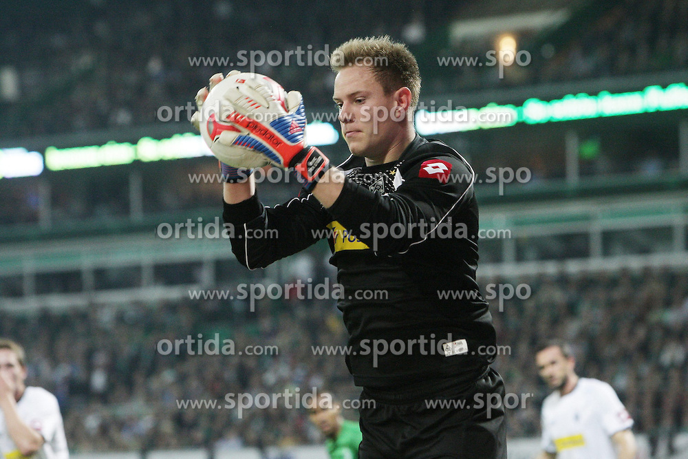 20.10.2012, Weserstadion, Bremen, GER, 1. FBL, Borussia Moenchengladbach, 8. Runde, im Bild Marc-Andre TER STEGEN (Gladbach) // during the German Bundesliga 8th round match between SV Werder Bremen and Borussia Moenchengladbach at the Weserstadium, Bremen, Germany on 2012/10/20. EXPA Pictures © 2012, PhotoCredit: EXPA/ Eibner/ Weber..***** ATTENTION - OUT OF GER *****