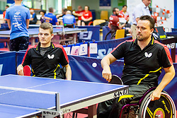 (Team GER) SCHMIDBERGER Thomas and BRUCHLE Thomas in action during 15th Slovenia Open - Thermana Lasko 2018 Table Tennis for the Disabled, on May 10, 2018 in Dvorana Tri Lilije, Lasko, Slovenia. Photo by Ziga Zupan / Sportida