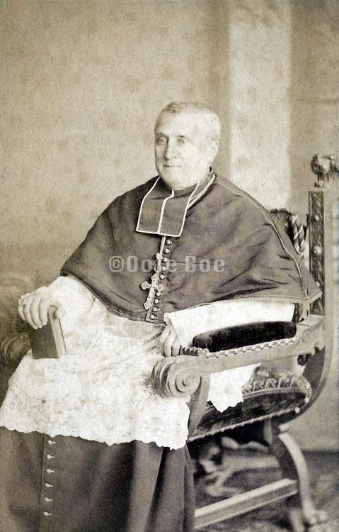 portrait cardinal late 1800s
