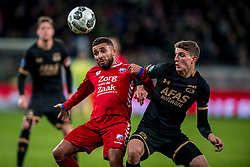 19-01-2018 NED: FC Utrecht - AZ Alkmaar, Utrecht<br /> Zakaria Labyad #10 of FC Utrecht, Guus Til #15 of AZ Alkmaar