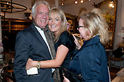 JOHN RENDALL; ZOE HOARE; KAY SAATCHI, The Pimlico Road Summer party. London SW1. 9 June 2009