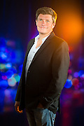 Dan Young of DXY Solutions, LLC in the studio on October 2, 2014.