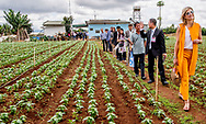 30-5-2017 - VIETNAM  DA LAT -Arrival at Horti Da Lat's GreenHouse Farm Queen Maxima visits farmers in Dalat . Queen Maxima, in her capacity as Special Prosecutor of the Secretary-General of the United Nations, for Inclusive Finance for Development, visits the Socialist People's Republic of Vietnam on Tuesday, May 30, and Thursday, June 1, 2017. COPYRIGHT ROBIN UTRECHT<br /> <br /> <br /> 30-5-2017 - VIETNAM  DA LAT -Aankomst bij &lsquo;GreenHouse Farm&rsquo; van Horti Da Lat.  Koningin Maxima bezoekt boeren in Da Lat . Koningin Maxima bezoekt in haar hoedanigheid van speciale pleitbezorger van de secretaris-generaal van de Verenigde Naties voor inclusieve financiering voor ontwikkeling (inclusive finance for development) de Socialistische Volksrepubliek Vietnam van dinsdag 30 mei en met donderdag 1 juni 2017.  COPYRIGHT ROBIN UTRECHT NETHERLANDS ONLY !!