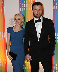 Naomi Watts and Liev Schreiber pose for photographers during the 35th Kennedy Center Honors at the Kennedy Center Hall of States on December 2, 2012 in Washington, DC.  Photo by Olivier Douliery/ABACAPRESS.COM  | 344250_172