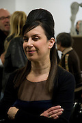 MAUREEN PALEY, Rebecca Warren exhibition opening at the Serpentine Gallery. London.  9 March  2009