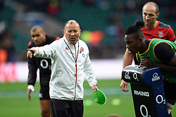 England Rugby Head Coach Eddie Jones - Mandatory byline: Patrick Khachfe/JMP - 07966 386802 - 11/11/2017 - RUGBY UNION - Twickenham Stadium - London, England - England v Argentina - Old Mutual Wealth Series International