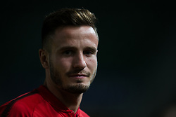October 25, 2017 - Elche, Elche, Spain - Saul of Atletico de Madrid during the Spanish Copa del Rey (King's Cup) round of 32 first leg football match between.Elche CF and Atletico de Madrid at the Martinez Valero stadium in Elche (Credit Image: © Sergio Lopez/Pacific Press via ZUMA Wire)