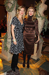 Left to right, LADY HELEN TAYLOR and ALLEGRA HICKS at the 2005 Lancome Colour Design Awards in association with CLIC Sargent Cancer Care for Children held at the Freemasons' Hall, Great Queen Street, London on 23rd November 2005.<br />