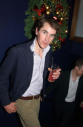 OTIS FERRY son of Bryan Ferry at a party hosted by Tatler magazine to celebrate the publication of the 2004 Little Black Book held at Tramp, 38 Jermyn Street, London SW1 on 10th November 2004.<br />