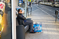 """""""Geil ist geil."""" Great is great, cool is cool. Tautological, but useful when you've got a couch where you can wait for a tram. Rosenthalerplatz, Berlin, Germany."""