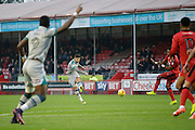 Sean McAllister during the EFL Sky Bet League 2 match between Crawley Town and Grimsby Town FC at the Checkatrade.com Stadium, Crawley, England on 26 November 2016. Photo by Jarrod Moore.