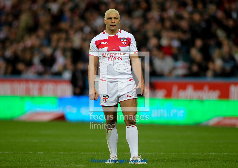 Ryan Hall of England during the 2016 Ladbrokes Four Nations match at the John Smiths Stadium, Huddersfield<br /> Picture by Stephen Gaunt/Focus Images Ltd +447904 833202<br /> 29/10/2016