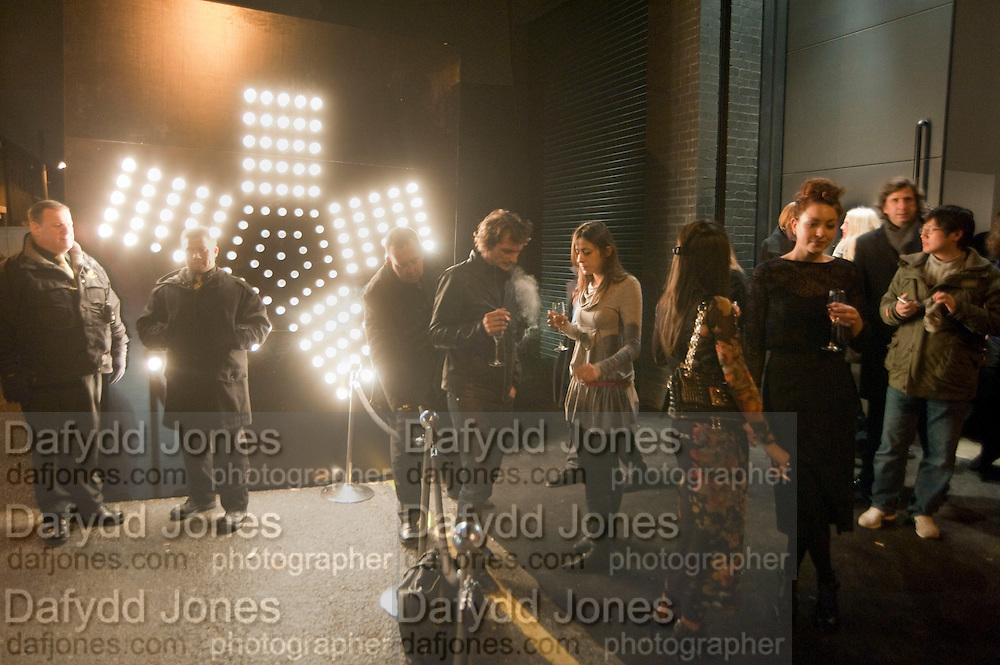 TOMMASO SARTORI; CHAIRA FERRARI, Wallpaper* Design Awards. Wilkinson Gallery, 50-58 Vyner Street, London E2, 14 January 2010 *** Local Caption *** -DO NOT ARCHIVE-© Copyright Photograph by Dafydd Jones. 248 Clapham Rd. London SW9 0PZ. Tel 0207 820 0771. www.dafjones.com.<br /> TOMMASO SARTORI; CHAIRA FERRARI, Wallpaper* Design Awards. Wilkinson Gallery, 50-58 Vyner Street, London E2, 14 January 2010