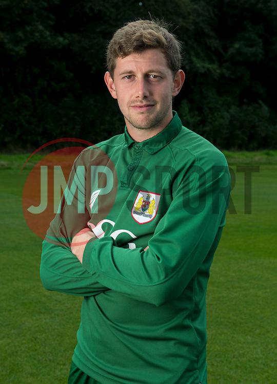 Bristol City Goalkeeper, Frank Fielding  - Photo mandatory by-line: Joe Meredith/JMP - Mobile: 07966 386802 05/08/2014 - SPORT - FOOTBALL - Bristol - Ashton Gate - Press Day