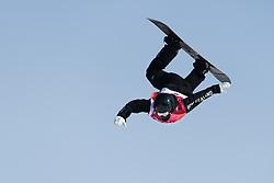 February 19, 2018 - Pyeongchang, SOUTH KOREA - 180219 Zoi Sadowski Synnott of New Zeeland competes in the Women's Big Air Qualification during day ten of the 2018 Winter Olympics on February 19, 2018 in Pyeongchang..Photo: Carl Sandin / BILDBYRÃ…N / kod CS / 57999_306 (Credit Image: © Carl Sandin/Bildbyran via ZUMA Press)