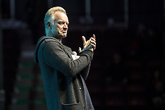 "Sting And ""The Last Ship"" Casting Support General Motors Workers - 14 Feb 2019"