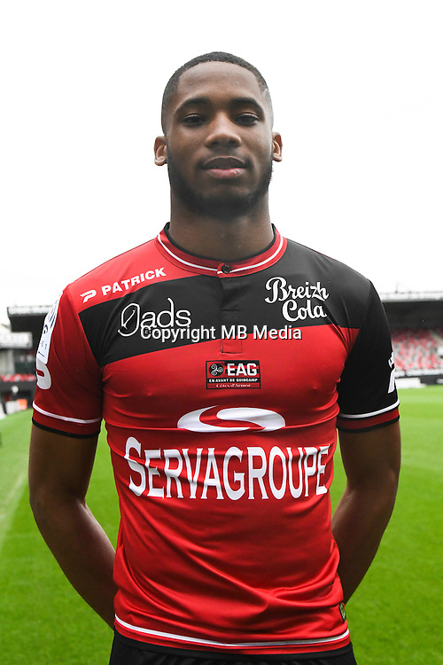 Marcus Coco of Guingamp during the Photo shooting of En Avant Guingamp on september 27th 2016<br /> Photo : Philippe Le Brech / Icon Sport