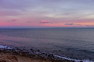 Twilight Kiss, Shoreline, Montauk, Camp Hero, Hamptons, NY