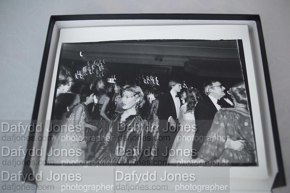 Lady Henrietta Bathurst at the Cinderella Ball. Dorchester Hotel. December 1980.