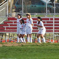 04-02-15 Green Forest Girls Soccer vs. Prairie Grove