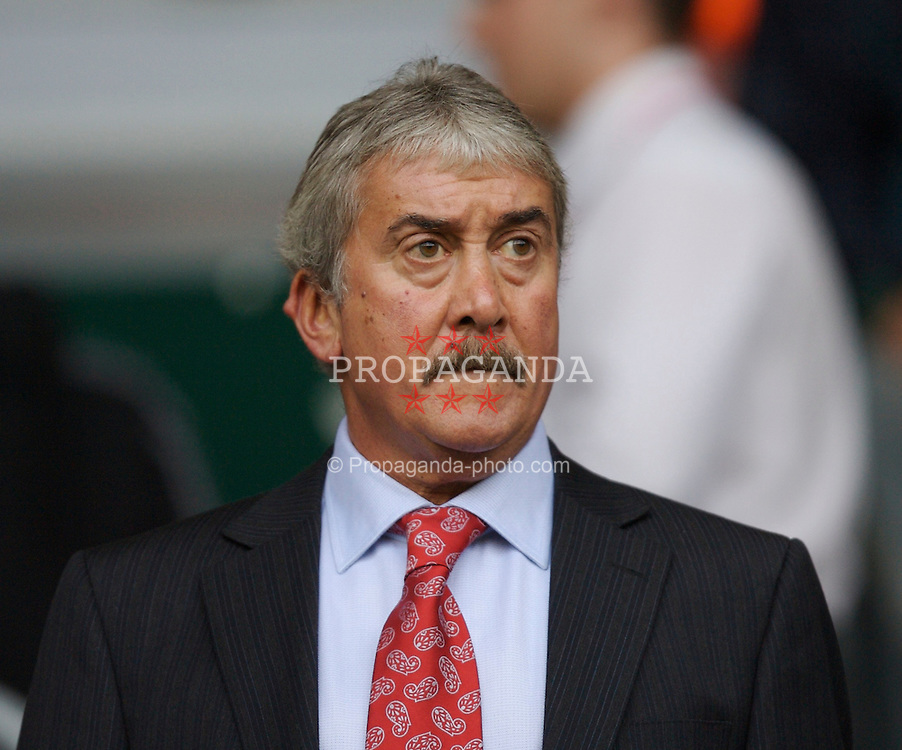 Liverpool, England - Sunday, August 19, 2007: Liverpool Life President David Moores during the Premiership match against Chelsea at Anfield. (Photo by David Rawcliffe/Propaganda)
