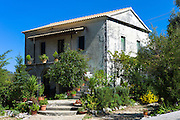 Typical Corfiot grand house in Perithia - Perithea - Northern Corfu, Greece