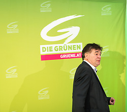 18.07.2017, Labstelle, Wien, AUT, Grüne, Sitzung des erweiterten Bundesvorstandes. im Bild Stv. Klubobmann und Budgetsprecher der Grünen Werner Kogler // Assistant-leader and budgetary speaksman of the greens Werner Kogler during board meeting of the greens in Vienna, Austria on 2017/07/18. EXPA Pictures © 2017, PhotoCredit: EXPA/ Michael Gruber