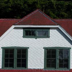 Upper Level of Lightkeeper's House, Turn Point, Stuart Island, San Juan Islands, Washington, US