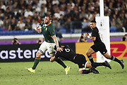 Duae VERMEULEN (RSA) during the Japan 2019 Rugby World Cup Pool B match between New Zealand and South Africa at the International Stadium Yokohama in Yokohama on September 21, 2019. Photo Kishimoto / ProSportsImages / DPPI