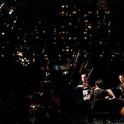 August 8, 2011 - Manhattan, NY : The International Contemporary Ensemble performs in a 'Little Night Music' at Lincoln Center's Kaplan Penthouse on Monday evening.  The performance was part of the Center's Mostly Mozart festival. CREDIT: Karsten Moran for The New York Times