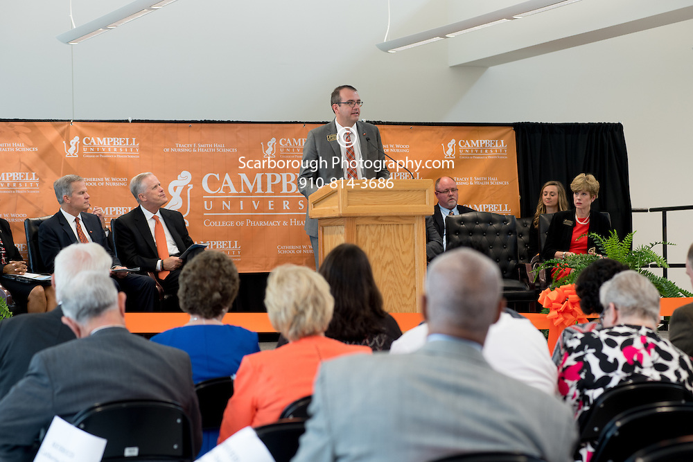 Tracey F. Smith Hall of Nursing & Health Sciences and the Catherine W. Wood School of Nursing ribbon cutting ceremony