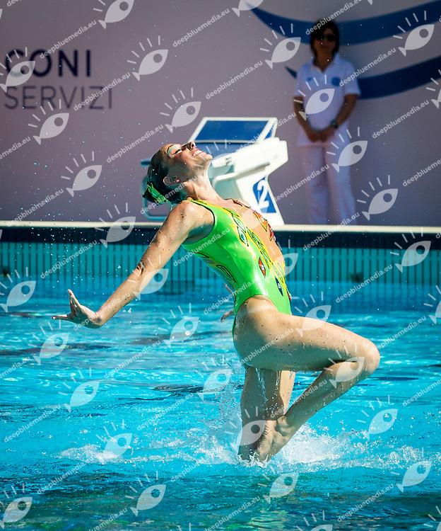 Fiamme Oro<br /> Preliminari Combo<br /> Campionato assoluto estivo nuoto sincronizzato<br /> 6-8 Giugno 2014<br /> Roma, Foro Italico<br /> Day02<br /> Photo Pasquale Mesiano/Deepbluemedia/Insidefoto