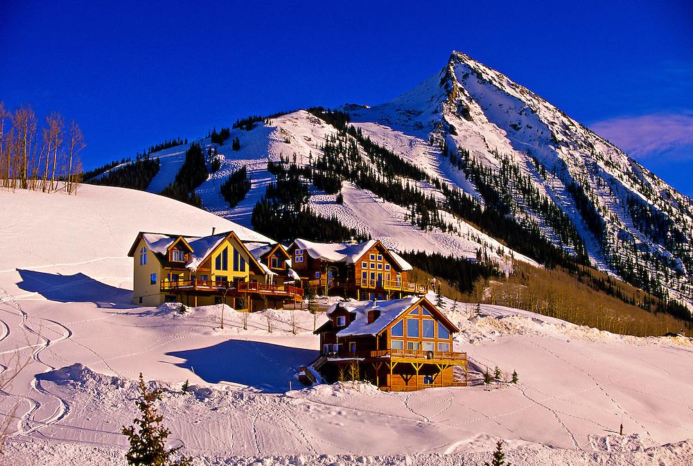 Crested Butte mountain resort, Colorado USA